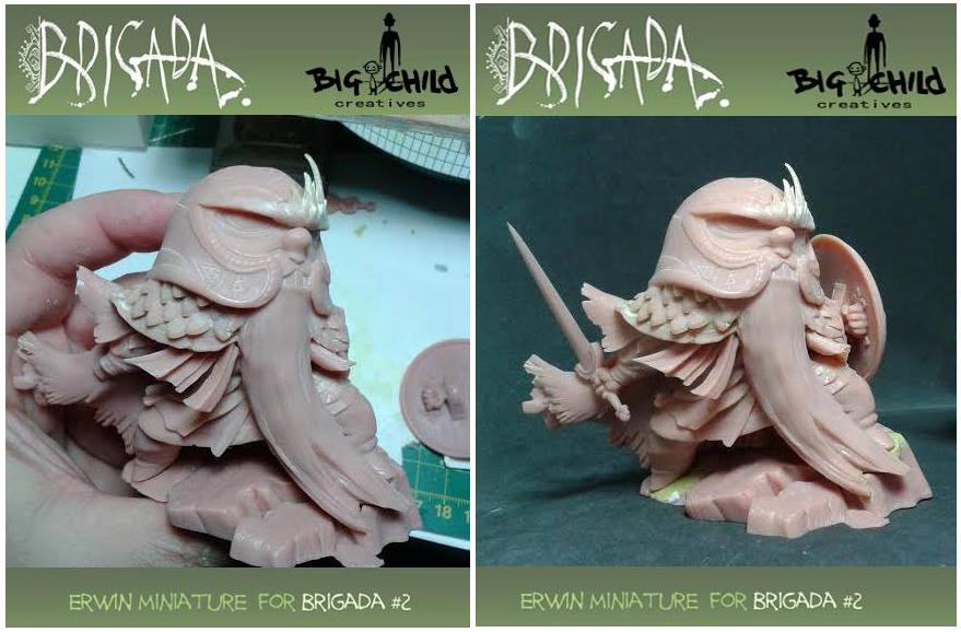 Erwin miniature 3D print by EnriqueFernandez