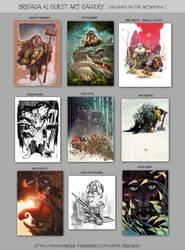 Brigada#2 artbook guest gallery