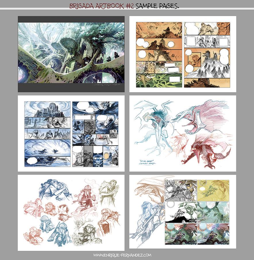Artbook #2 sample by EnriqueFernandez
