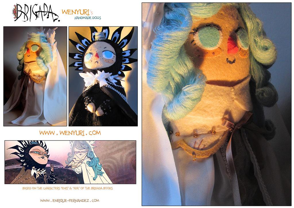 Wenyuri Handmade Dolls by EnriqueFernandez