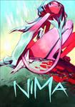 Cover Nima (gouache/color pencils)