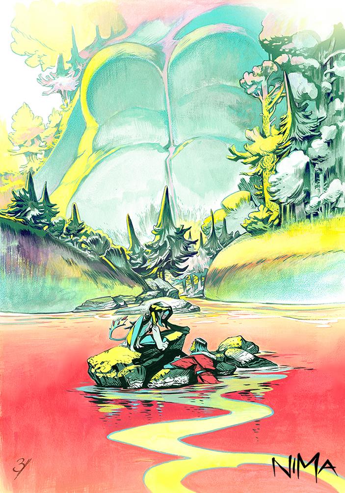 NIMA -Provisional Artbook Cover by EnriqueFernandez