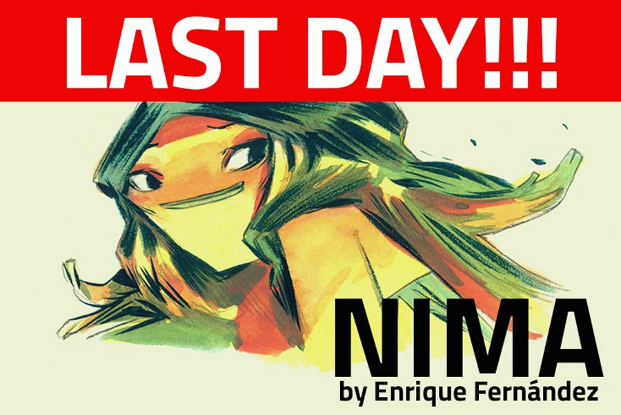 NIMA, last day to back the book! by EnriqueFernandez