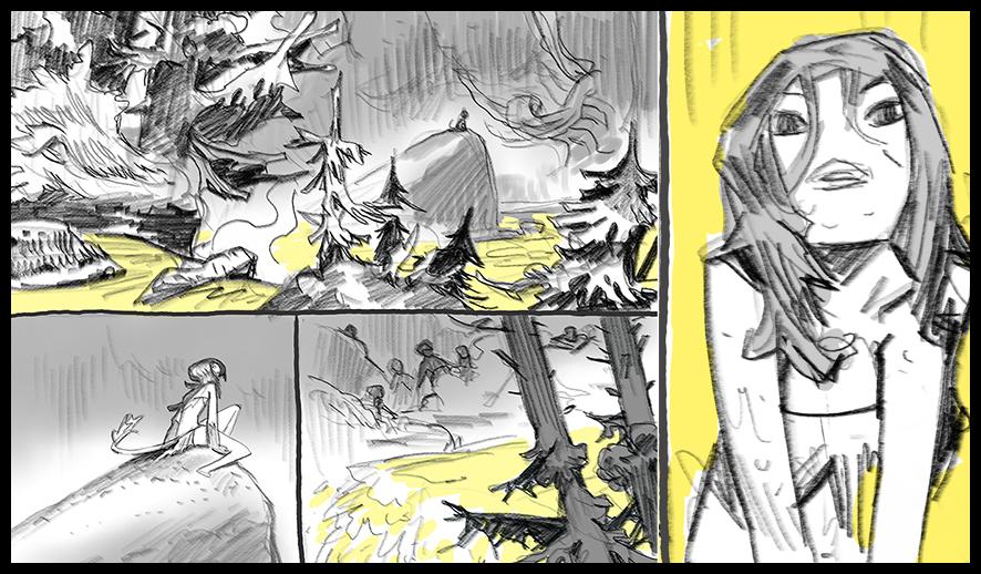 NIMA Storyboard by EnriqueFernandez