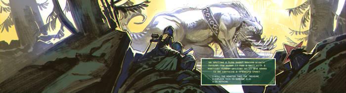 Banner web game by EnriqueFernandez
