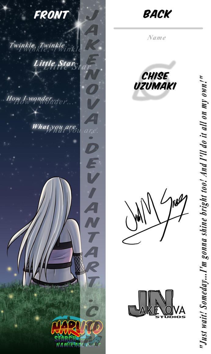 Bookmark Sample by JakeNova