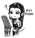 :Comm: Nico Robin - Chibi