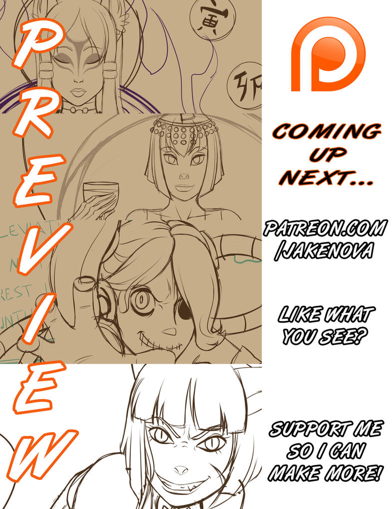 :Preview: Fanart - Coming up next... by FoxxBrush