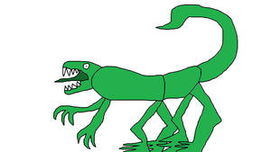 Dinosaur Ant by NightmarishWarlord