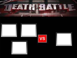 DEATH BATTLE MEME - 3 VS 1