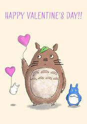 Totoro Loves You by Mosak-Design