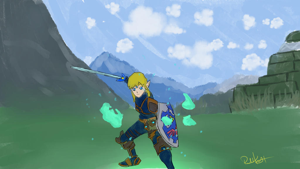 My version of Link! by PaulHewittArt