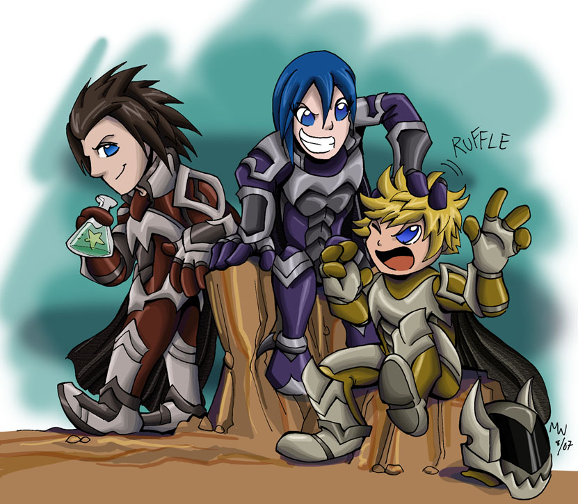 Chibi Chasers - KH2FM Spoilers by LynxGriffin