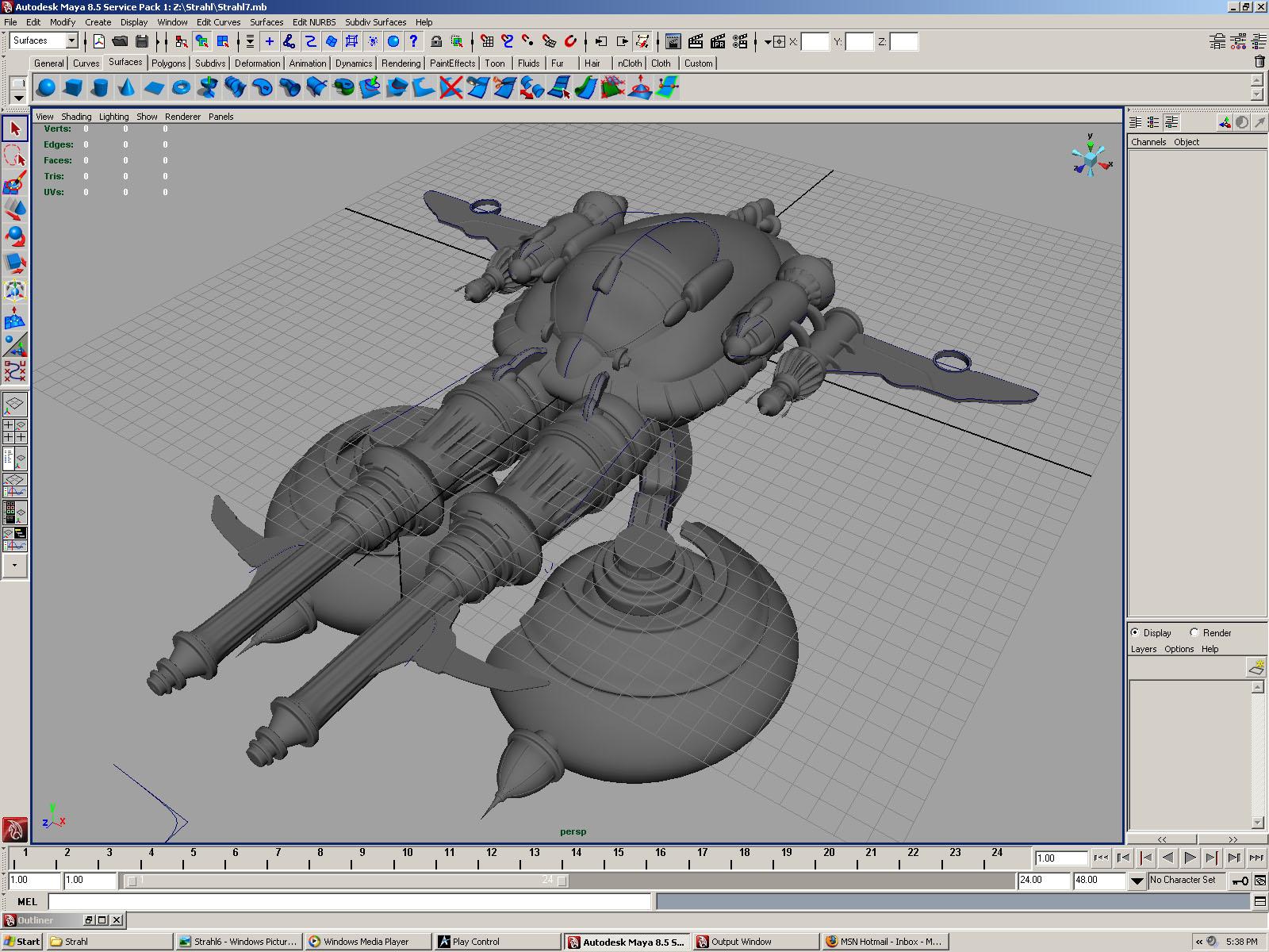 Balthier's Strahl - WIP by LynxGriffin