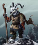 Mountain Shaman - Colored by LynxGriffin