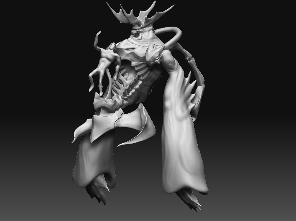 WIP - Ansem Model by LynxGriffin
