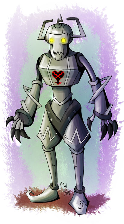 Heartless Comm 10 - Cyberman by LynxGriffin