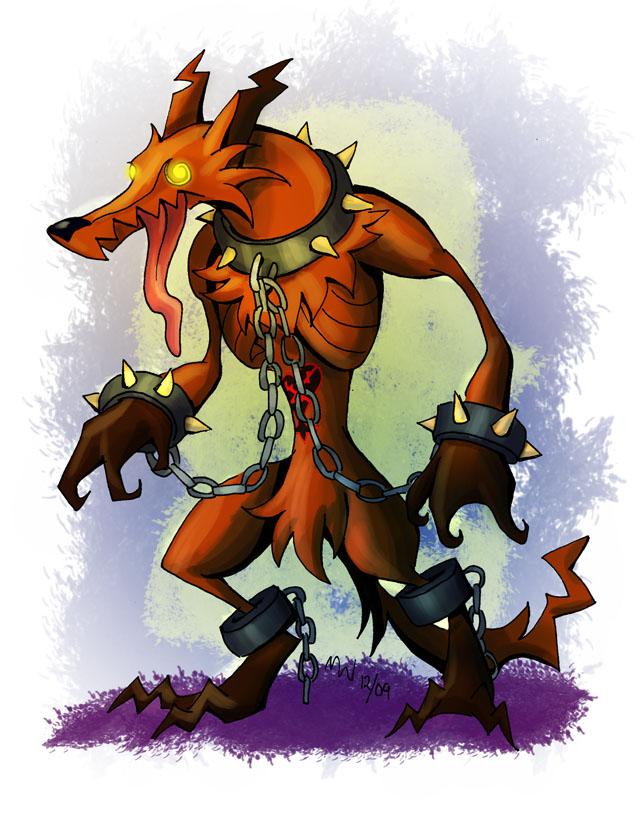 Heartless Comm 22 - Werewolf by LynxGriffin