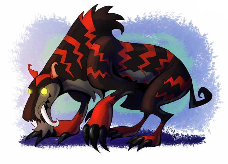 Heartless Comm 3 - Rek'nagh by LynxGriffin