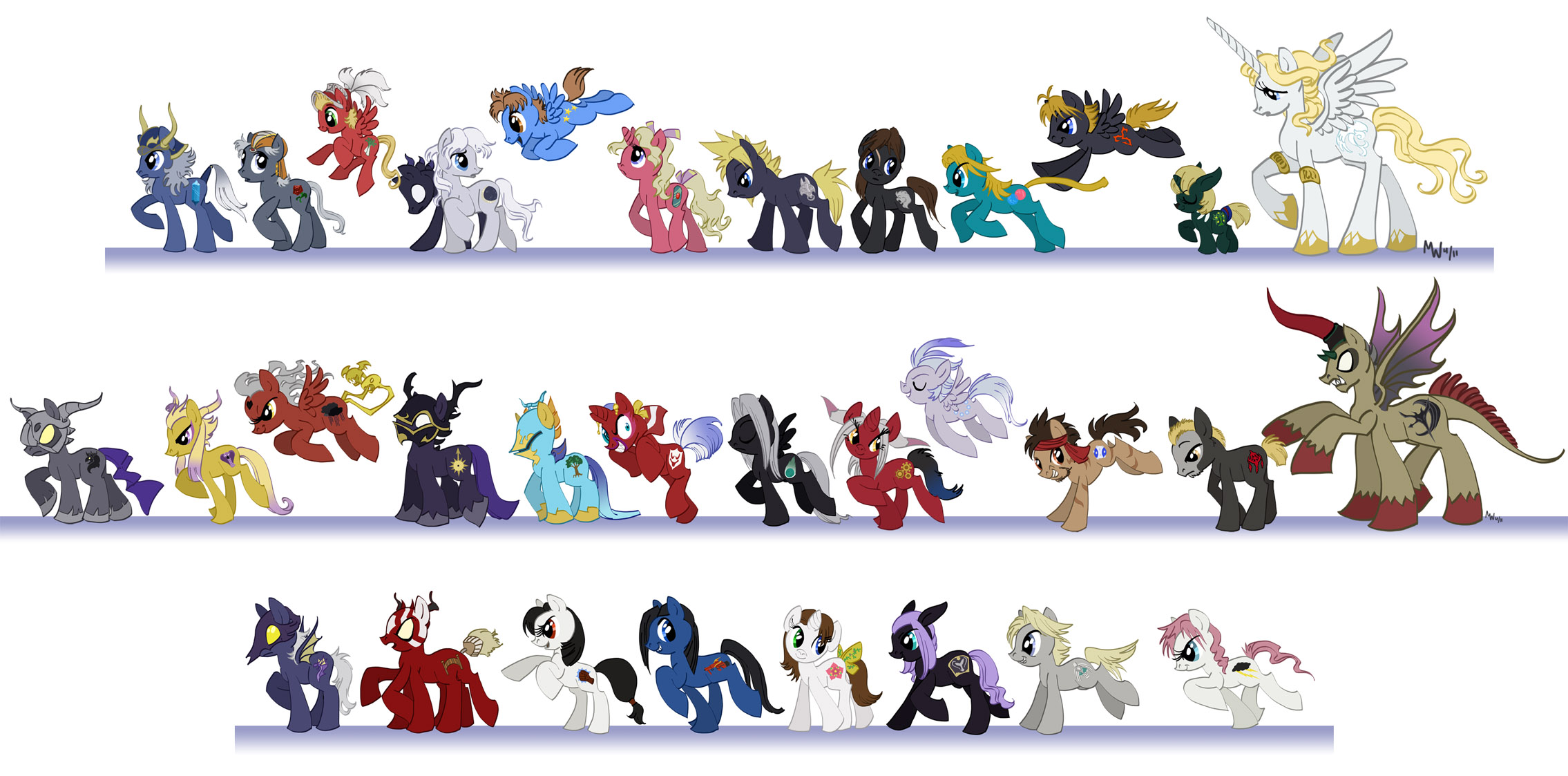 MLP - Dissidia 012 cast by LynxGriffin