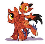 My Little Nuckelavee by LynxGriffin