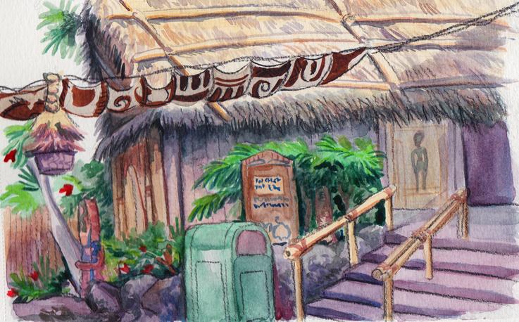Enchanted Tiki Room by LynxGriffin