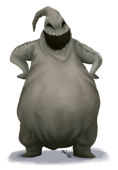 All Hearts - Oogie Boogie by LynxGriffin