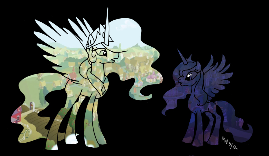 MLP - Day and Night by LynxGriffin