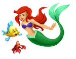 All Hearts - Ariel, Flounder and Sebastian