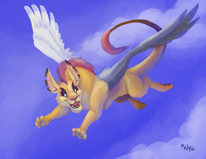 Obedience In Flight by LynxGriffin