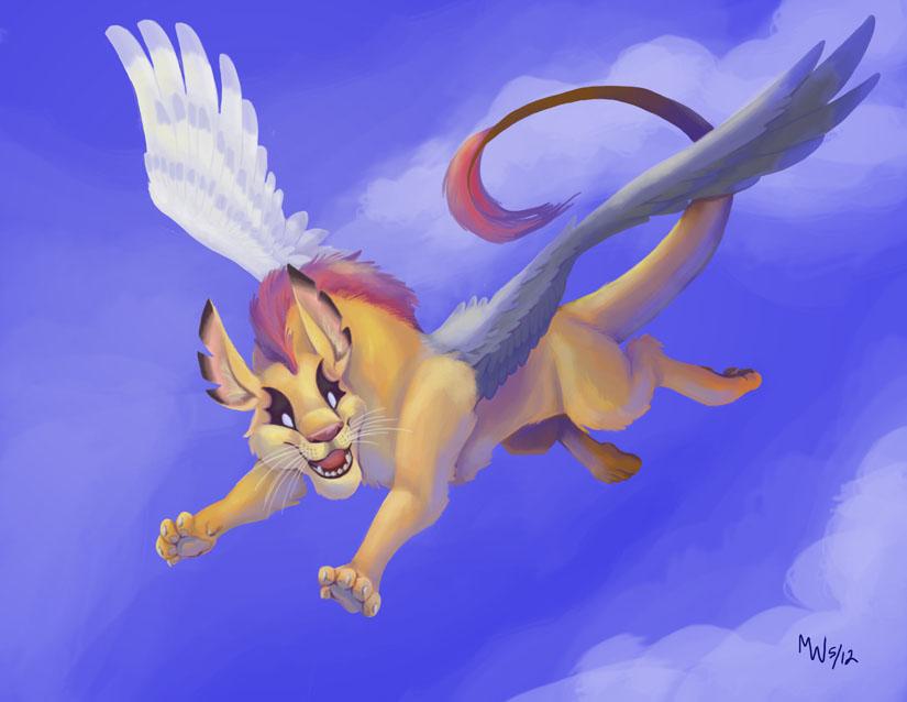Obedience In Flight by LynxGriffin
