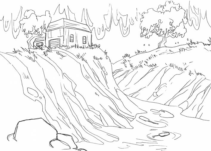 Flood coloring pages sketch coloring page for Flood coloring pages