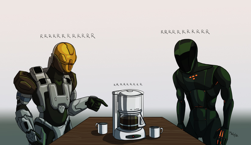 Gift - The Coffee Club For Men by LynxGriffin
