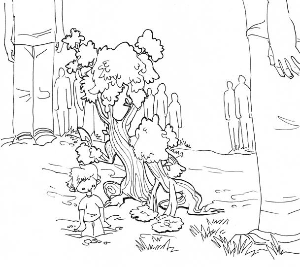 WUD - Tree planting by LynxGriffin