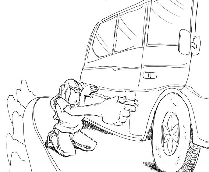 WUD - Chalk racer by LynxGriffin
