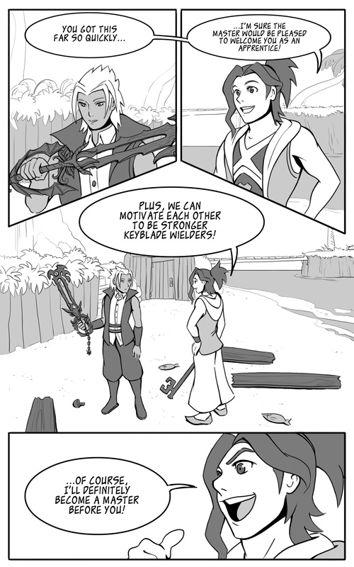 KH - First Journey [Page 12] by LynxGriffin