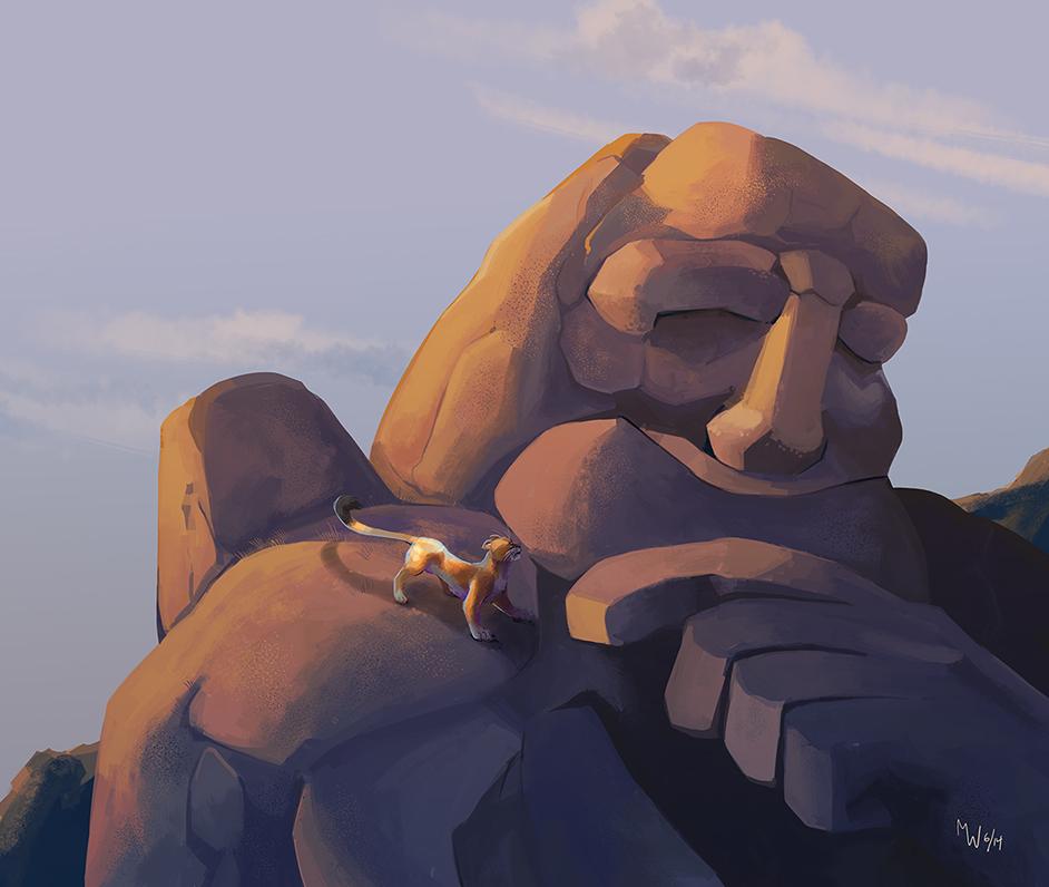 Mountain Man by LynxGriffin