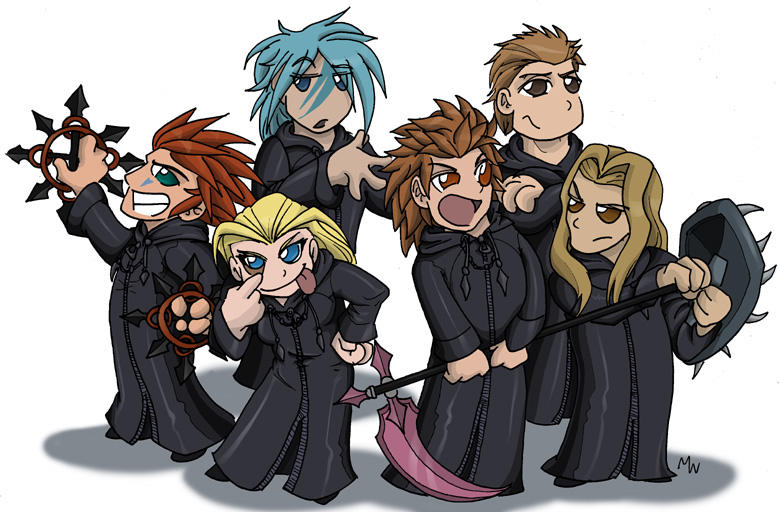 Chibi Organization by LynxGriffin