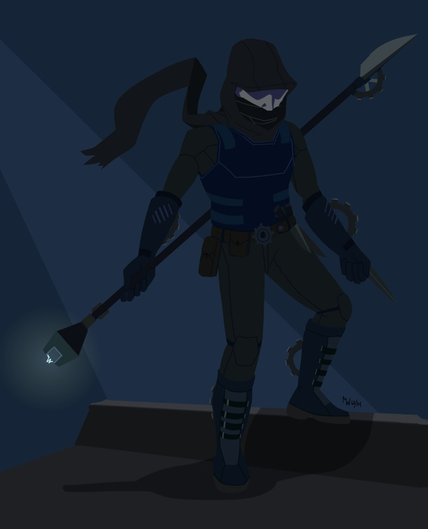 Comm - Clockwork Phantom by LynxGriffin