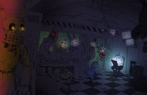 Five Nights At Freddy's by LynxGriffin