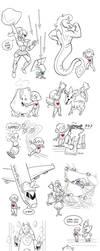 Undertale Encounters 1 by LynxGriffin