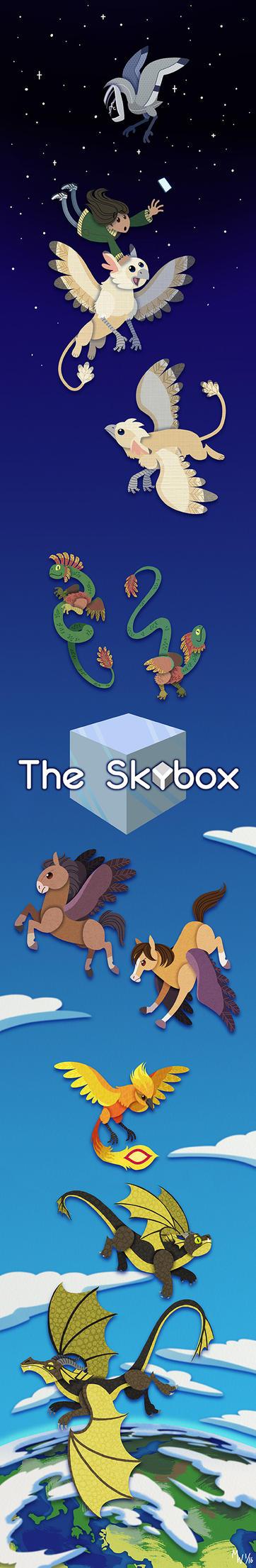 Skybox Wallscroll by LynxGriffin