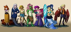 Comm - Monster Girls
