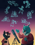 NITW - Dusk Stars by LynxGriffin