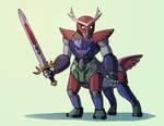 Comm - Fairy Amalgam Armor by LynxGriffin
