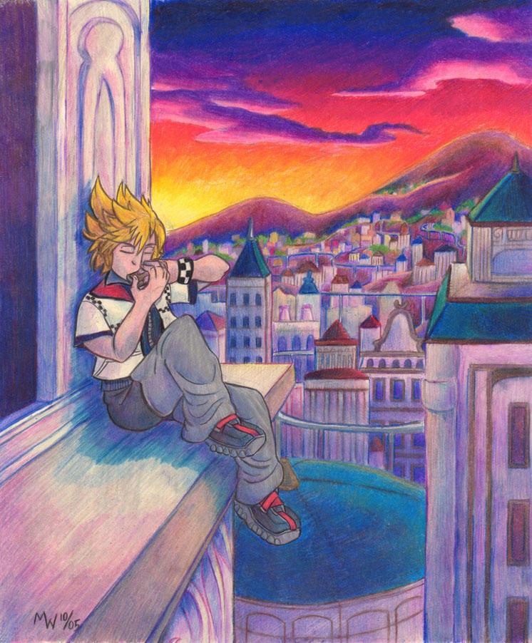 Harmonica Twilight by LynxGriffin