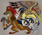 Coyote and Thunderbird