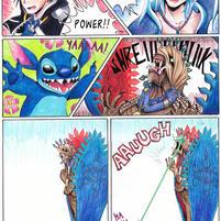 Stitch vs. Anima by LynxGriffin