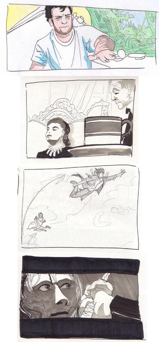 Storyboard Mishmash by LynxGriffin