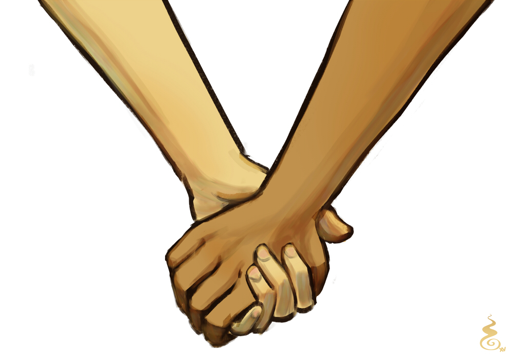Lovershands 2015 May Patreon reward by Holyengine